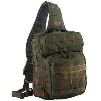 RED ROCK OUTDOOR GEAR Red Rock Outdoor Gear Rover Sling Pack - Olive Drab w/Red Stitching