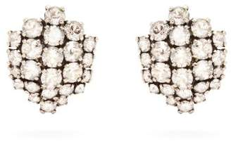 Swarovski Ryan Storer Crystal Clip On Earrings - Womens - Crystal