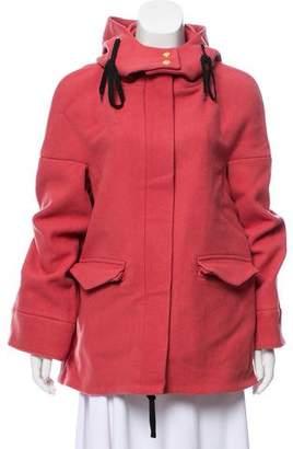 Marni Hooded Wool Coat