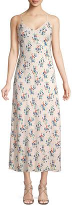 Jill Stuart Ellie Floral Slip Dress