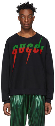 Gucci Black Logo Sweatshirt