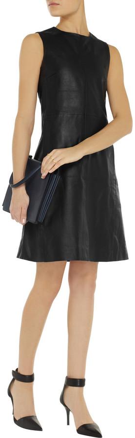 Iris & Ink Noelle leather dress