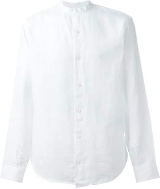 Armani Jeans mandarin collar shirt