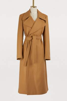 Pallas Long belted coat