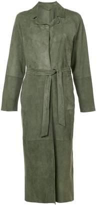 Eleventy long belted coat
