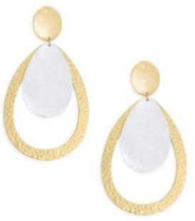 Stephanie Kantis Guilded Two-Tone Earrings