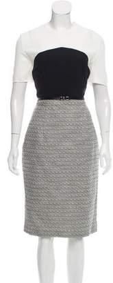 Jason Wu Colorblock Tweed Dress w/ Tags