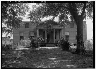 Carlton Infinite Photographs Photo: Jenkins Autry House,County Road 52,Alpine,Talladega County,Alabama,AL,1