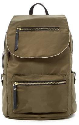 Madden Girl Proper Nylon Flap Backpack $68 thestylecure.com