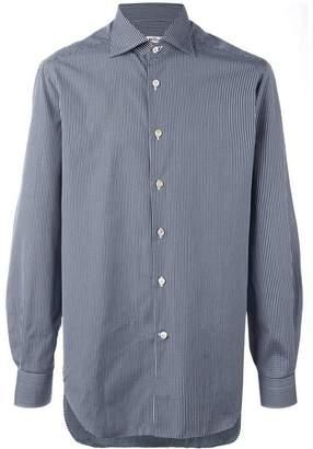 Kiton checked button down shirt