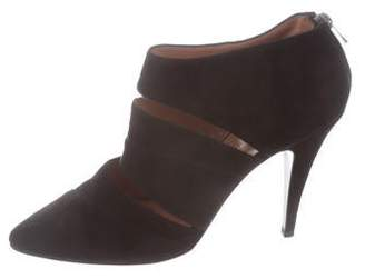 Sigerson Morrison Suede Pointed-Toe Booties