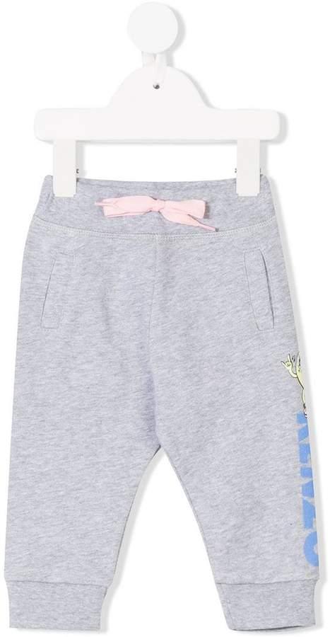 hotdog motif track trousers