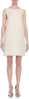 Blugirl Textured Sleeveless Shift Dress
