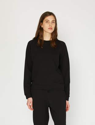Base Range Organic Cotton Basic Sweatshirt - Black