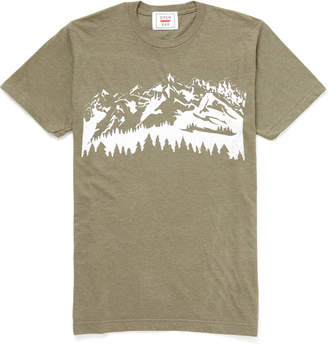 Open Bar Mountain Graphic Tee Forest Grn M