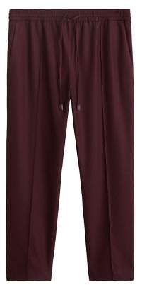 MANGO Adjustable waist trousers