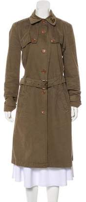 See by Chloe Button-Up Trench Coat