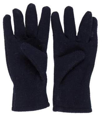 Moncler Kids' Fleece Gloves blue Kids' Fleece Gloves