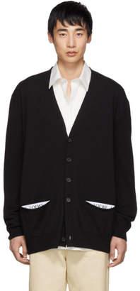 Loewe Black Classic Cardigan