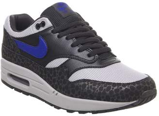 1 Trainers Castor Off Noir Hyper Blue Atmosphere Grey