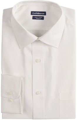 Croft & Barrow Big & Tall Classic-Fit Easy-Care Spread-Collar Dress Shirt