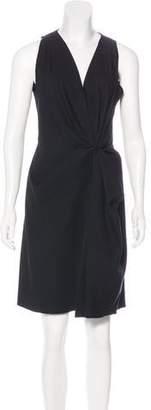 Lanvin Linen-Blend Dress