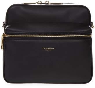 Dolce & Gabbana Messenger Black Calfskin Bag
