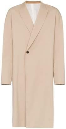 Haider Ackermann single button trench coat