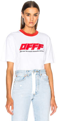 Off-White Off White Oversize Tee
