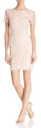 Molly Bracken Embellished V-Back dress