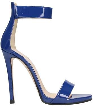 Marc Ellis Bluette Patent Leather Sandals
