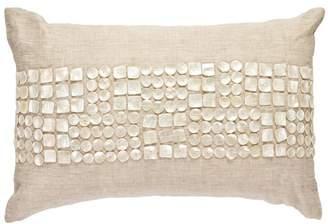 Mother of Pearl Bandhini Lumber Cushion