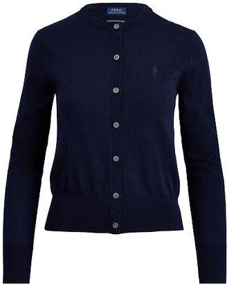 Polo Ralph Lauren Merino Wool Cardigan $145 thestylecure.com