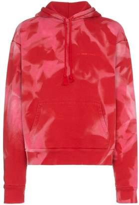 424 x Armes tie dye cotton hoodie