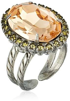 Sorrelli Army Girl Classic Oval Cut Ring
