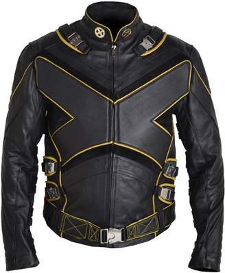 Wolverine MSHC American X-Men X Leather Jacket PS (XL) Cow Hide Brown