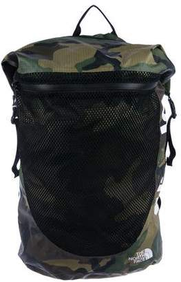 The North Face x Supreme 2017 Waterproof Woodland Camo Backpack