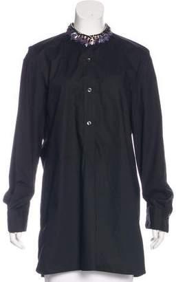 Marni Embellished Long Sleeve Tunic