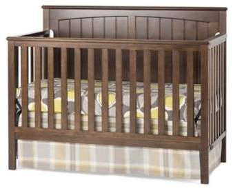 Child CraftCraft ChildTM Sheldon 4-in-1 Convertible Crib in Slate Brown