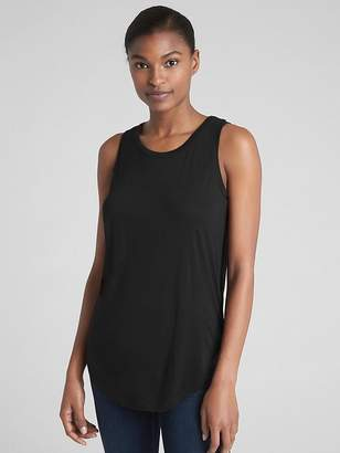 Gap V-Back Tank Top in Luxe Rayon