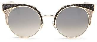 Jimmy Choo Oras Cat Eye Sunglasses, 51mm $495 thestylecure.com