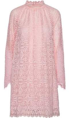 Temperley London Nomi Chantilly Lace Mini Dress