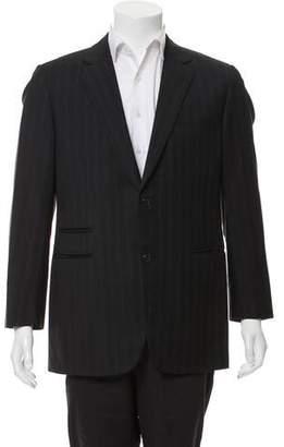 Hermes Striped Two-Button Blazer