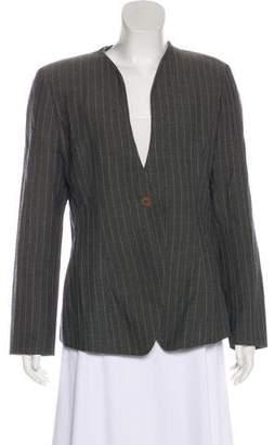 Giorgio Armani Wool Textured Blazer