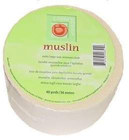 Clean + Easy Clean & Easy Wax Remover Strips Muslin Roll 40yd