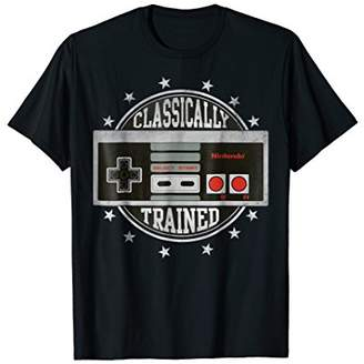 Nintendo NES Controller Classically Trained Graphic T-Shirt