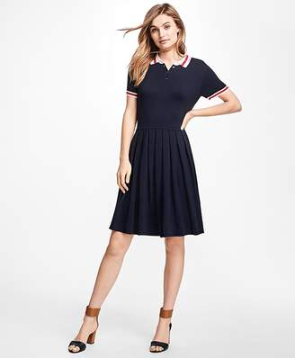 Pleated Polo Dress $78 thestylecure.com