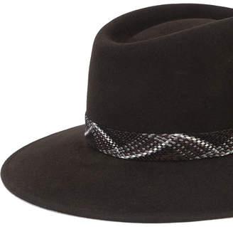 Maison Michel Pierre fedora hat