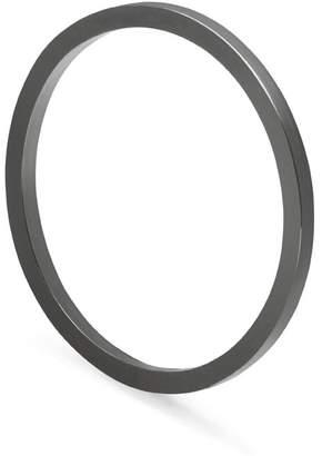 Myia Bonner Black Skinny Square Stacking Ring