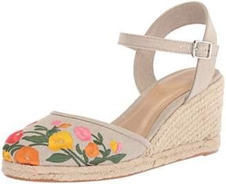 Lauren Ralph Lauren Women's Hayleigh Espadrille Wedge Sandal